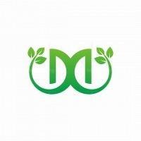 Letter M Leaf Logo