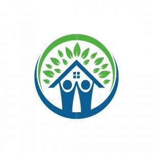 Human Home Nature Logo