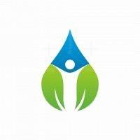 Life Nature Drop Logo