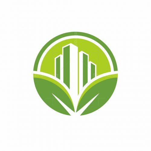 City Leaf Logo