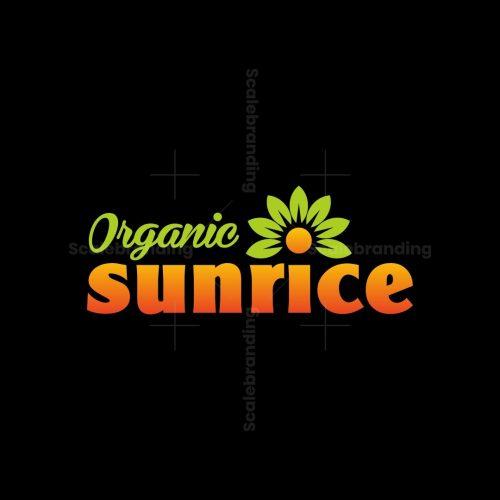 Organic Sunrice Logo
