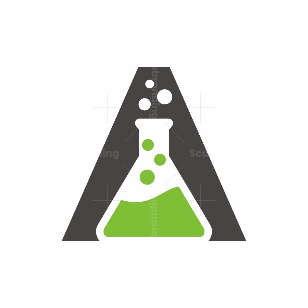 Letter A Lab Logo