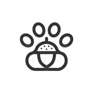 Paw Nut Logo