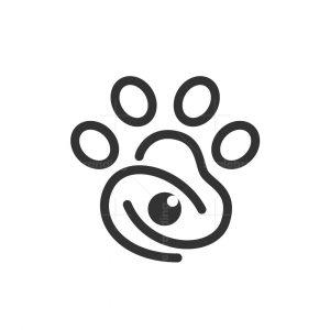 Paw Eye Logo