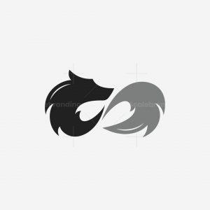 Infinity Wolf Logo