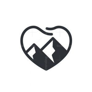 Dental Peak Love Logo