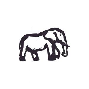 African Elephant Logo