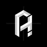 Letter At Or Ta Monogram Logo