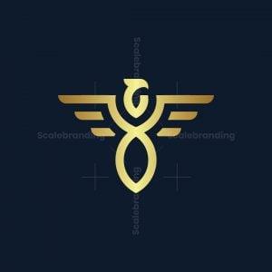 Abstract Eagle Logo