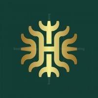 Abstract H Logo