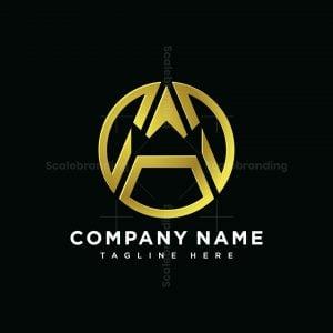 Monogram A Crown Logo