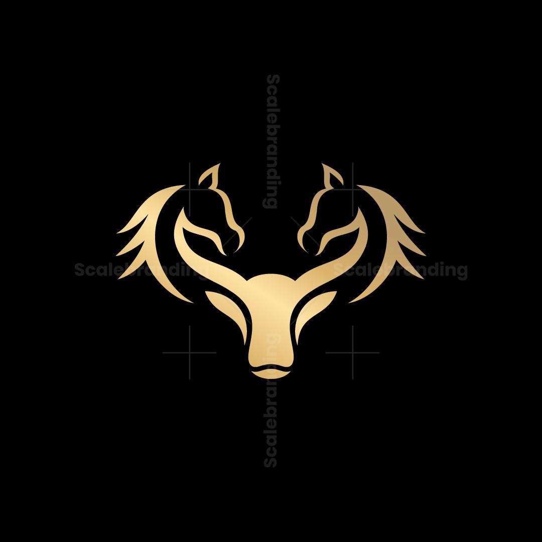 Bull Horse Logo