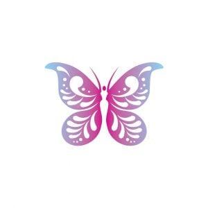 Lady Butterfly Logo