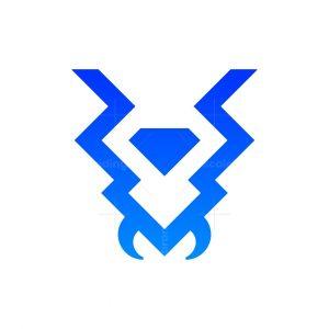 Diamond Ant Head Logo