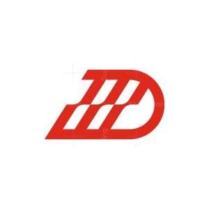 D Letter Tech Logo