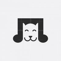 Dog Music Logo