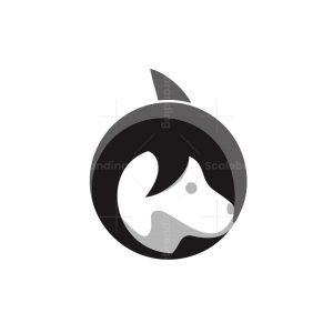 Dolphin And Dog Logo