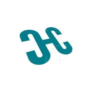 Dynamic Letter Hc Or Ch Logo