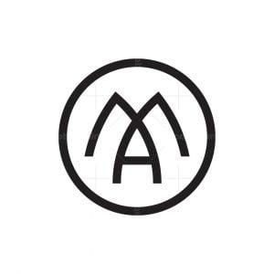 Elegant Letter Ma Logo