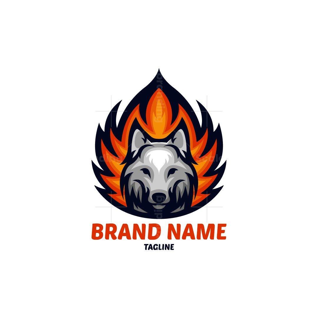 Fire Wolf Logo