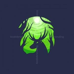 Forest Deer Logo