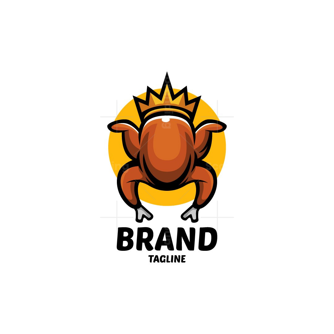 Fried Chicken King Logo