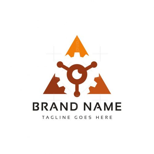 Triangle Gear Logo