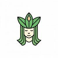 Goddess Of Nature Logo