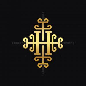 Golden Ornament H Logo