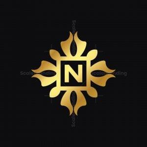 Golden Ornament N Logo