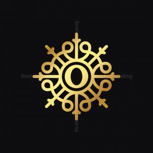 Golden Ornament O Logo