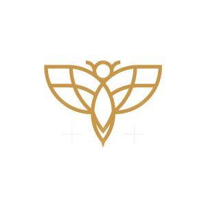 Graceful Bee Logo