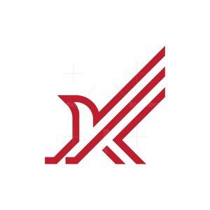 Hawk Monogram Logo