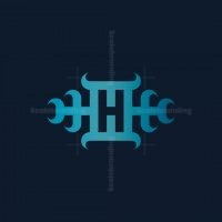 Horn Ornament H Logo