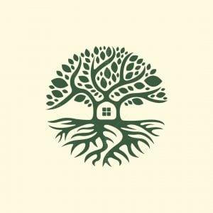 House Tree Logo