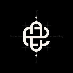 Knot Eo Or Oe Letter Logo