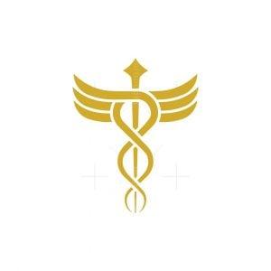 Caduceus Star Logo