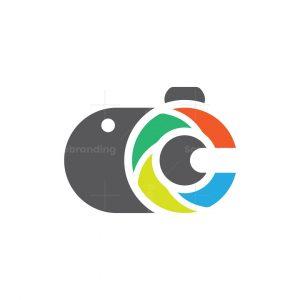 Letter C Camera Logo