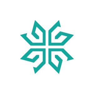 Letter G Ambigram Logo
