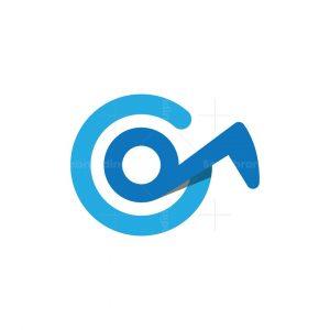 Letter G Music Logo