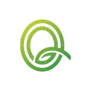 Letter Q Nature Logo