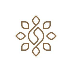 Letter S Shine Coffee Logo
