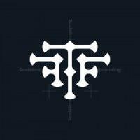 Letter T Or Ftf Logo