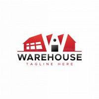 Letter W Warehouse Logo