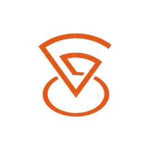 Letter G Pin Logo