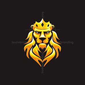Lion Fire King Logo
