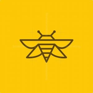 Modern Mark Bee Logo