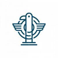 Monoline Eagle Podcast Logo