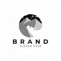 Mountain And Bear Logo