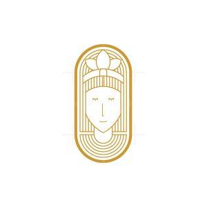 Native American Woman Logo